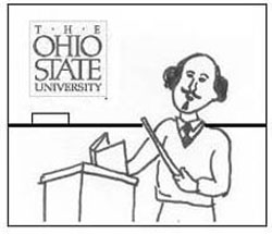 OSU professor cartoon