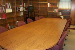 Conference room table.