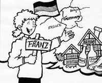 Franz talking about Germany